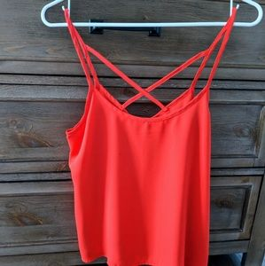 Abercrombie and Fitch cross back tank